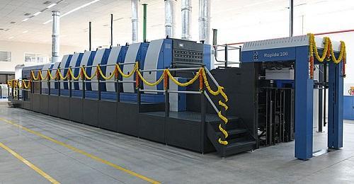 KBA installs new Rapida 106 at TCPL Packaging in Goa, India