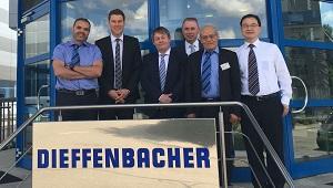Dieffenbacher receives an order from Panneauxd'Algérie