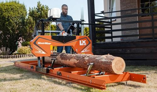 Wood-Mizer launches new economical LX50 sawmill