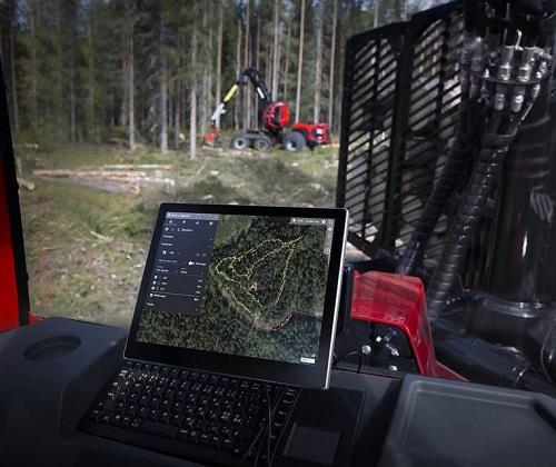 Komatsu Forest launches new digital tool that helps visualise the work in the forest