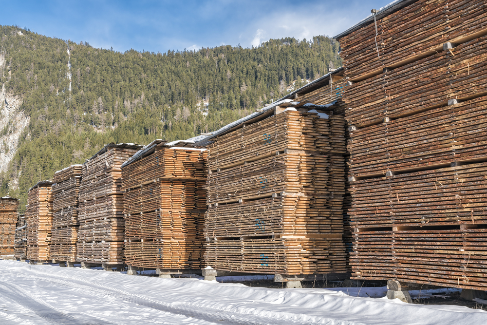 U.S. lumber prices increased more than 180% since last spring
