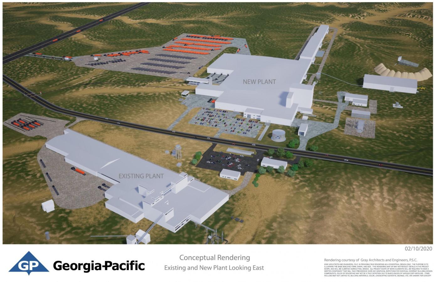 GP to build $285 million gypsum wallboard plant in Texas