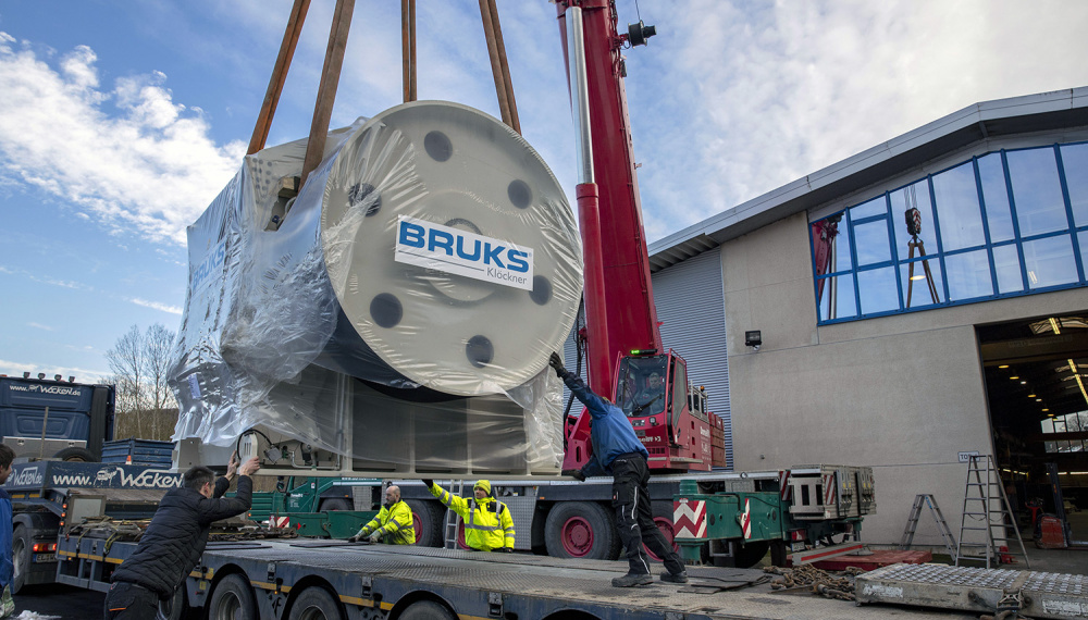 Bruks Siwertell deliveries large drum chipper to US pellet plant