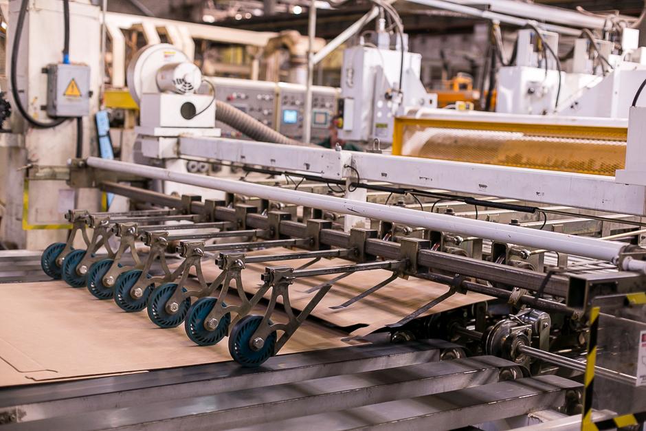 Компания «Нижкартон» увеличила производство трех- и пятислойного гофрокартона на 15%