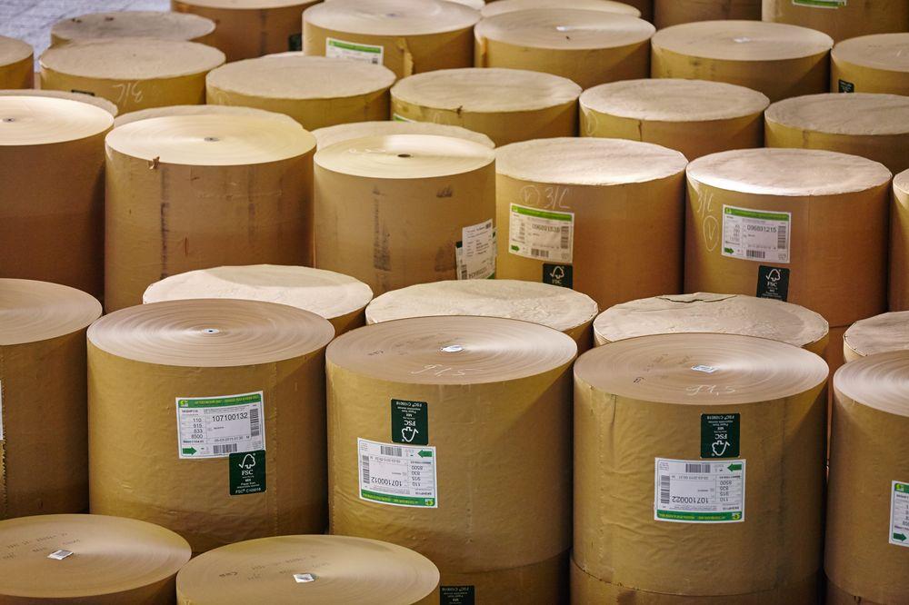 В январе-июле 2020 г. Сегежский ЦБК увеличил отгрузку бумаги на 10,7%