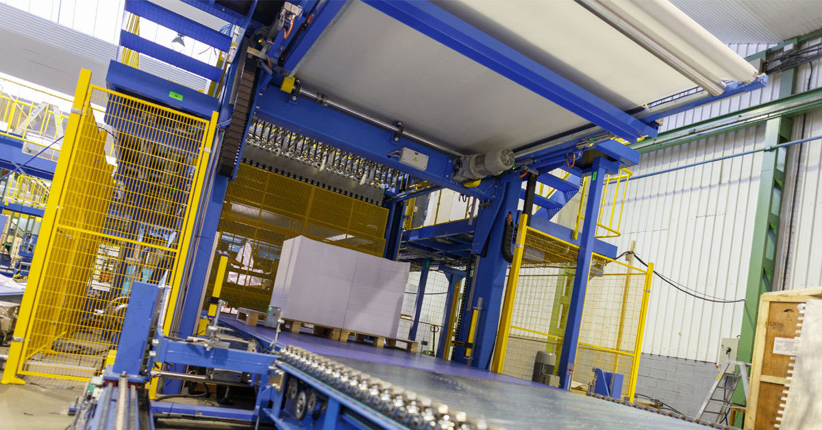 Pasaban установит машину KB 1700 на заводе по производству картона в Германии