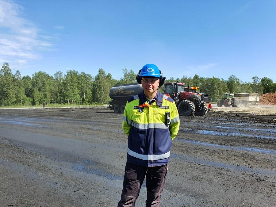 Holmen внедряет технологию укладки экологически чистых твердых покрытий на площадках своих предприятий в Швеции