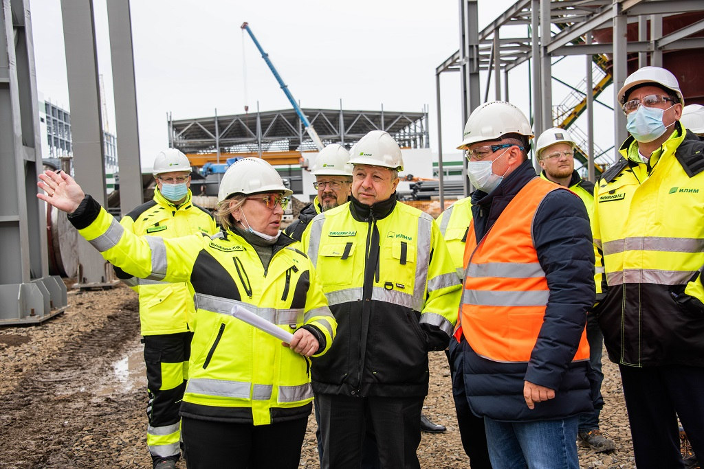Ilim Group starts installation of main equipment at its new mill in Ust-Ilimsk, Russia