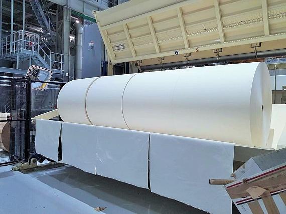 Segezha Group станет первым отечественным производителем беленой микрокрепированной мешочной бумаги