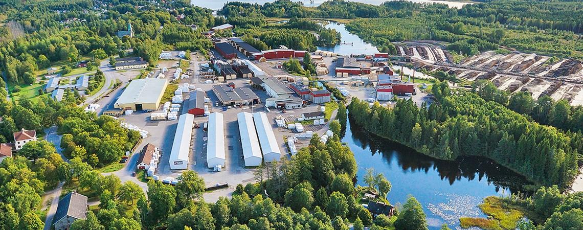Valutec установит сушильную камеру ТС на заводе Setra в Швеции