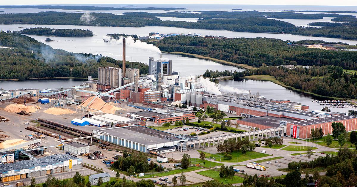 Valmet реконструирует линию по производству целлюлозы на заводе Holmen в Швеции