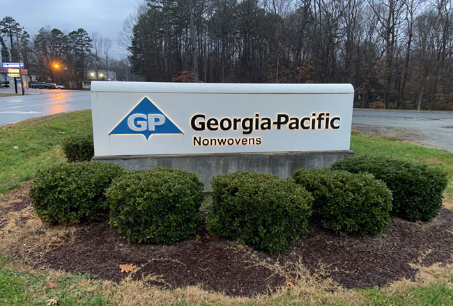Georgia-Pacific to sell nonwovens business to Glatfelter