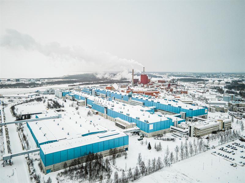 Stora Enso завершила реконструкцию бумажной фабрики в Финляндии