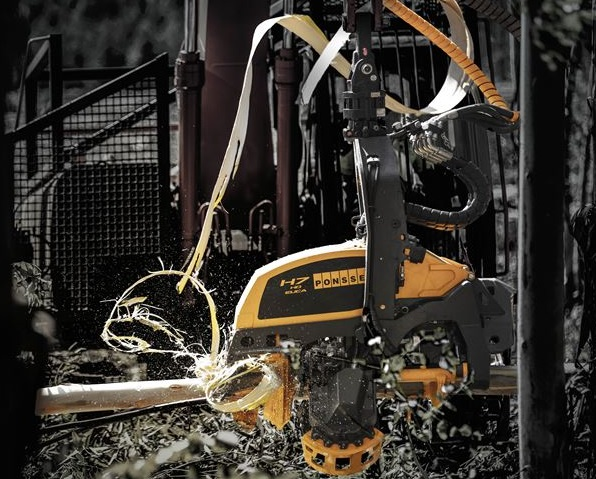Ponsse launches new harvester head for processing eucalyptus trees