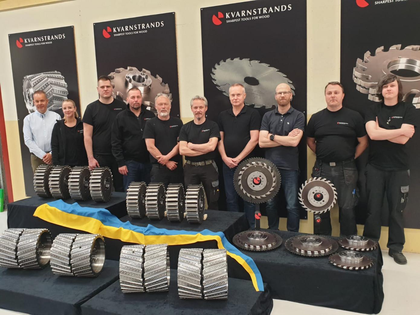 Kvarnstrands изготовила инструмент для шведского концерна Setra