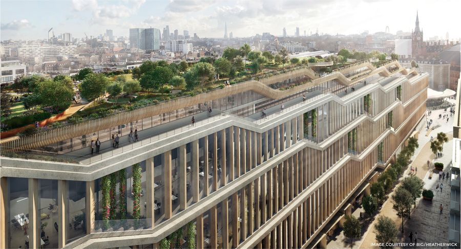 Hess Timber to develop largest wooden facade in the world for new Google HQ in London