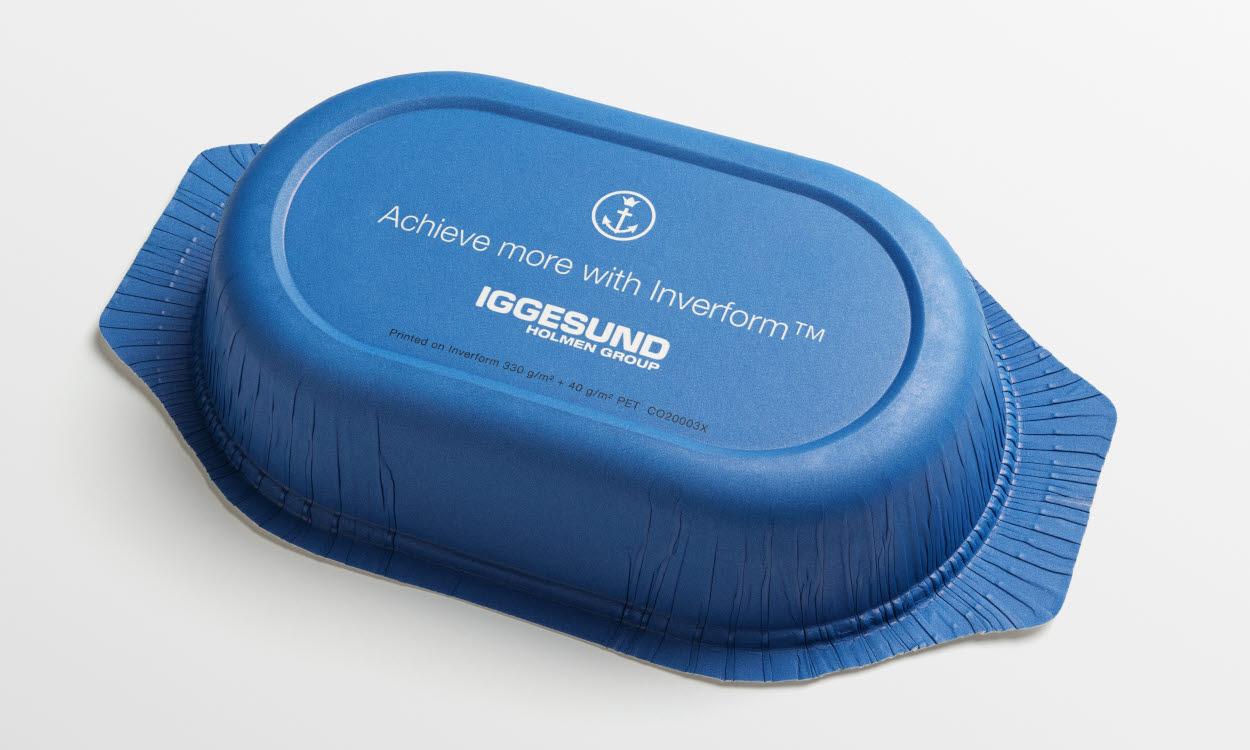 Iggesund Paperboard разработала инновационный лоток для готовой еды