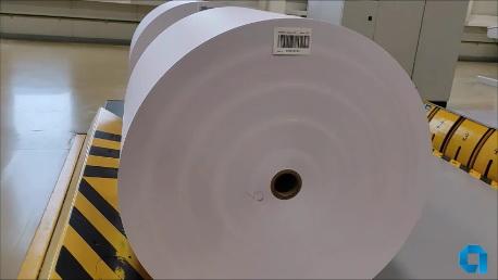 «Завод газетной бумаги» произвел первую партию бумаги-основы для облицовочных материалов