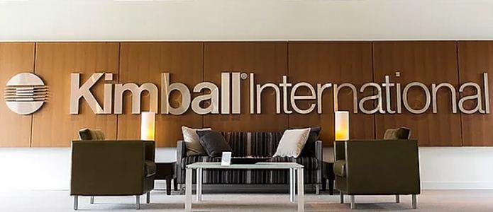 В третьем квартале 2020—2021 финансового года продажи Kimball International снизились на 22%