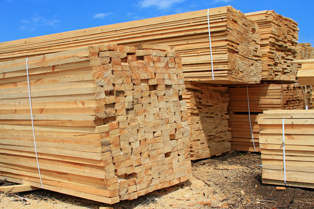North American softwood lumber prices correct down while benchmark WSPF 2x4s continue to stay level