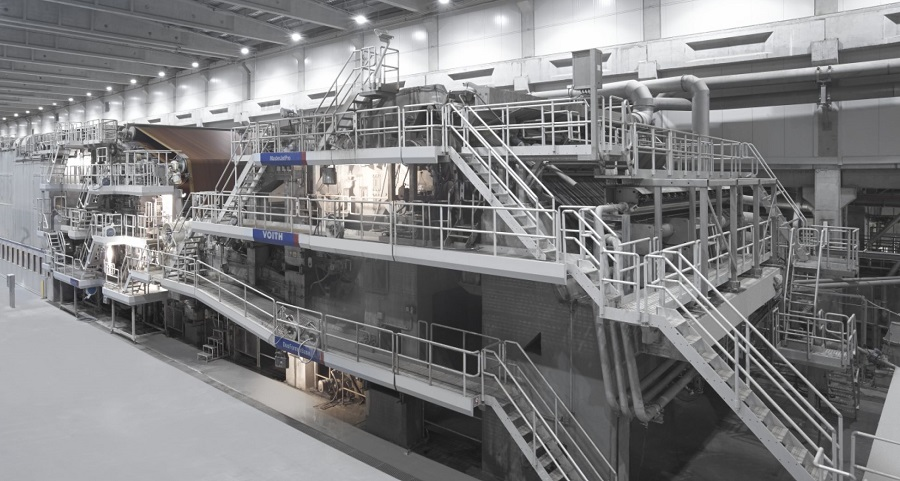 """Voith modernizes and expands stock preparation plant for Modern Karton""""s PM 3 in Ergene, Turkey"""