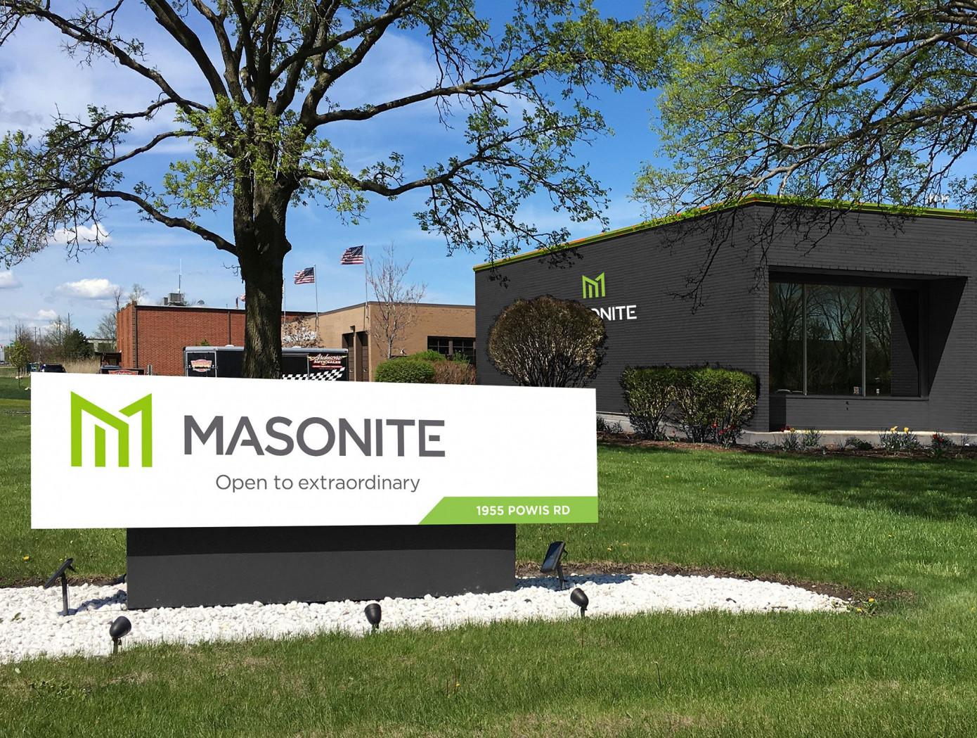 В 1 кв. 2021 г. продажи Masonite International Corporation выросли на 17%