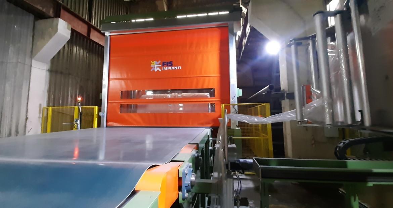 На Сясьском ЦБК установлена новая транспортно-упаковочная линия FIS Impianti