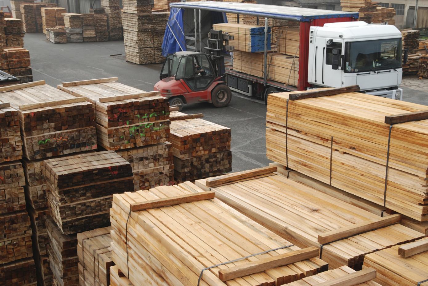 В январе-сентябре 2020 г. Россия сократила производство пиломатериалов на 4,5%