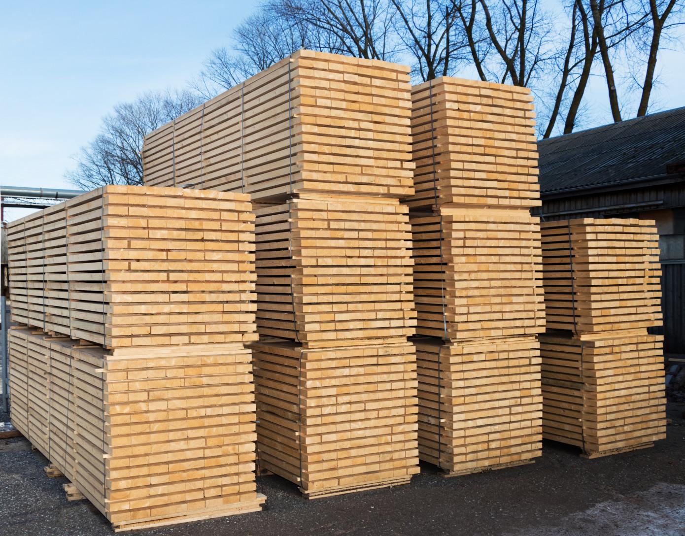 В августе 2021 г. Норвегия увеличила экспорт изделий из древесины на 10%