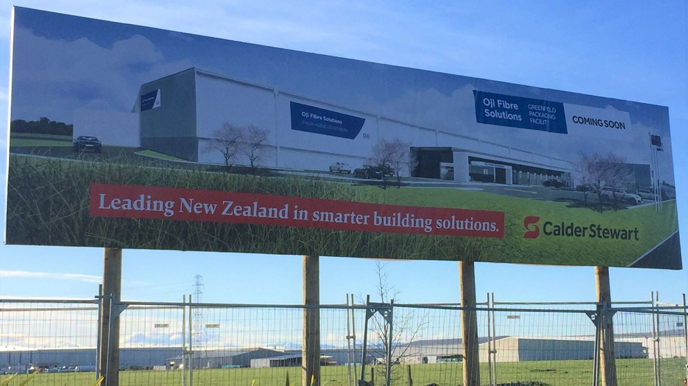 Oji Fibre Solutions builds new corrugated cardboard packaging facility in Christchurch, New Zealand