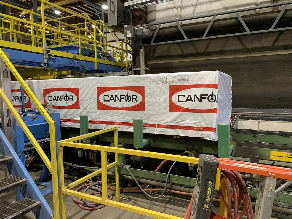 Canfor curtails lumber production at its sawmills in Canada