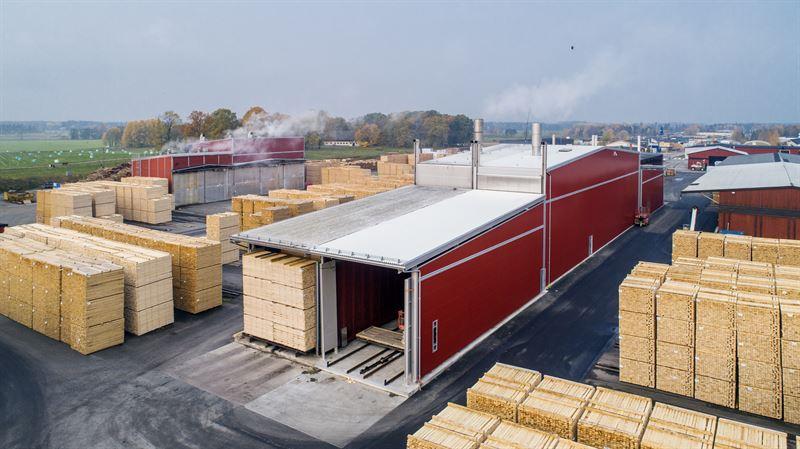 Valutec to supply Euro 10 million lumber kilns to VIDA in Sweden