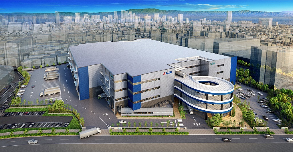 Rengo completed construction of Yodogawa Logistics Center in Japan