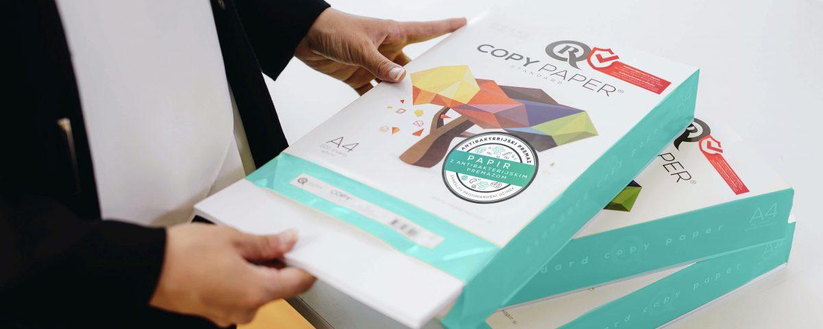 Radece papir nova разработала антибактериальную офисную бумагу