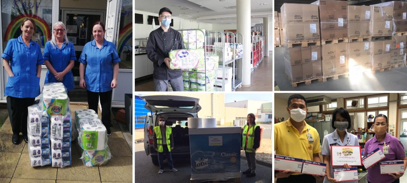 COVID-19: российские фабрики Essity передали медицинским учреждениям 4 т бумажной продукции
