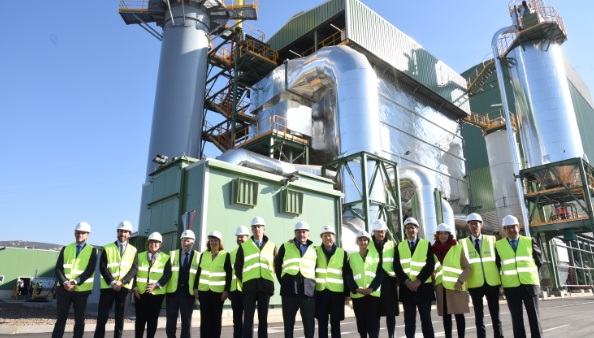 Ence opens its new biomass generation plant in Puertollano, Spain