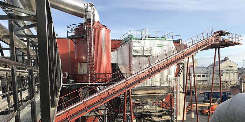 На фанерном заводе UPM в Финляндии введена в эксплуатацию новая биотопливная котельная