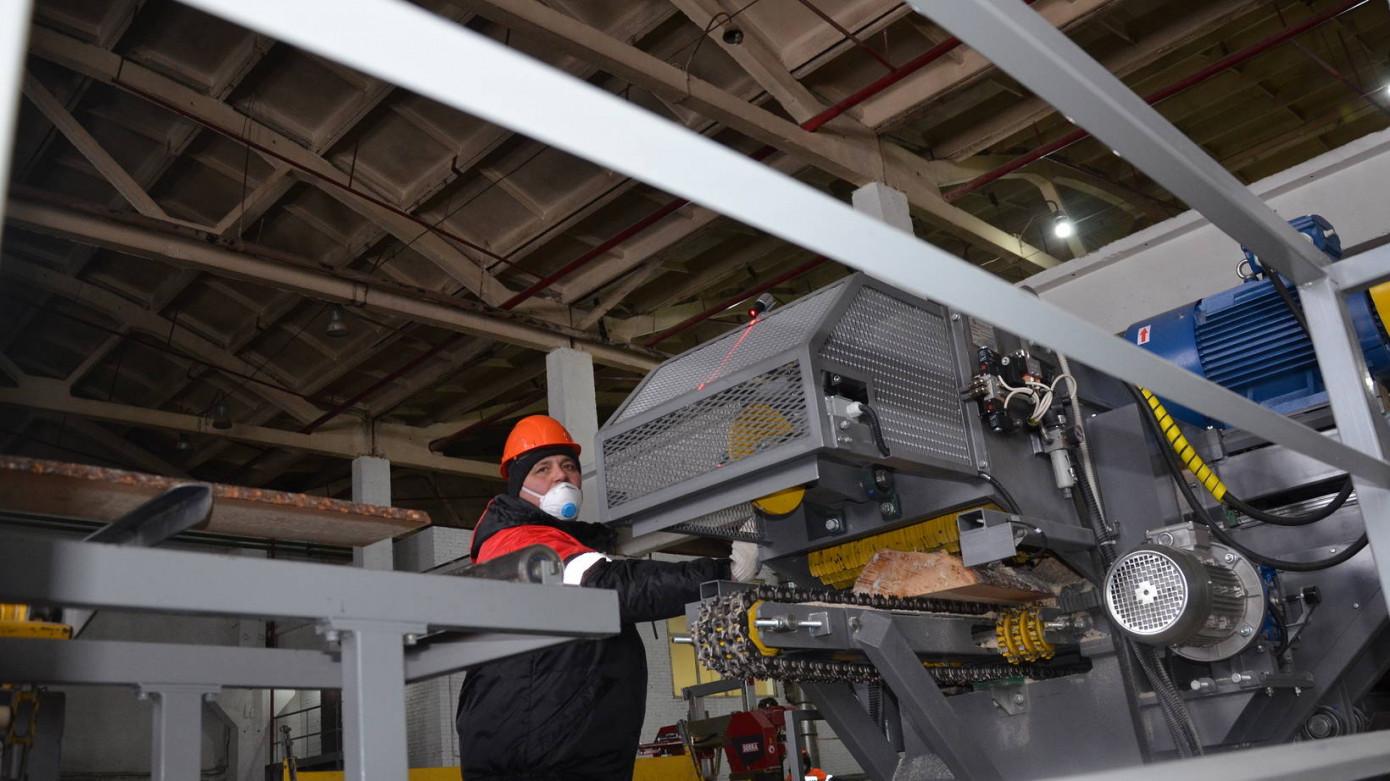 Компания «Аквилон» ввела в эксплуатацию лесопильный завод в Архангельской обл.
