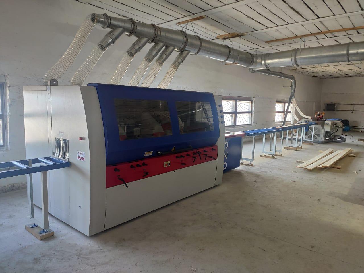 В Иркутской обл. открылось предприятие по производству строганой погонажной продукции