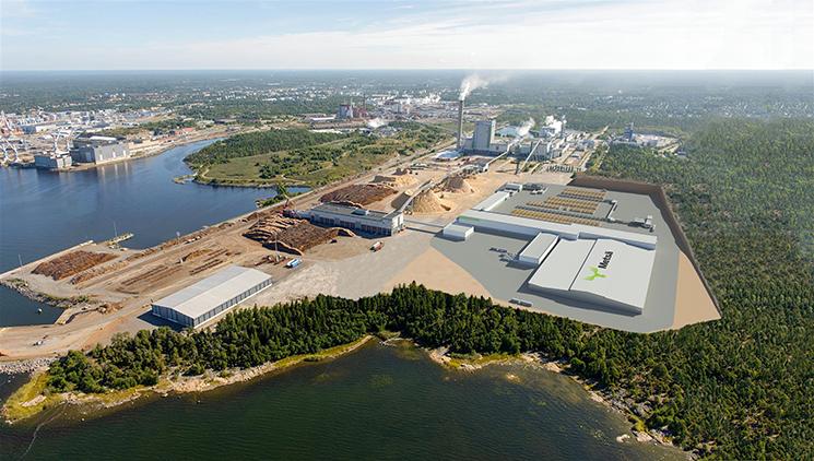 Metsä Fibre chooses Caverion as maintenance partner at new sawmill in Rauma, Finland
