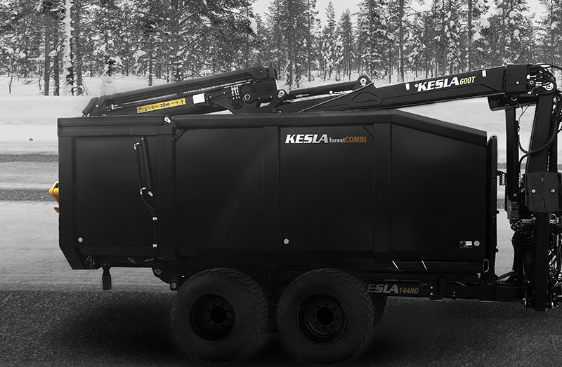 Kesla introduces forestCOMBI bioenergy platform for timber trailers