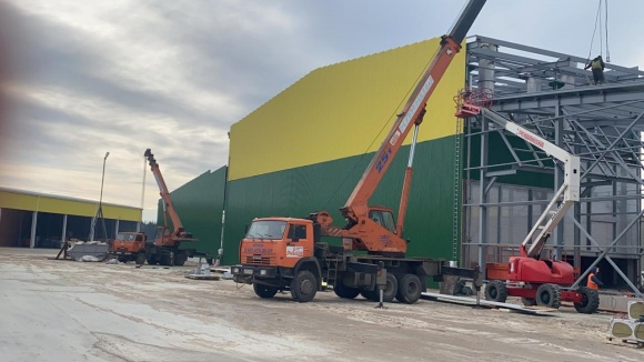 В Вельском ЛПК завершается установка сушильных туннелей Heinola