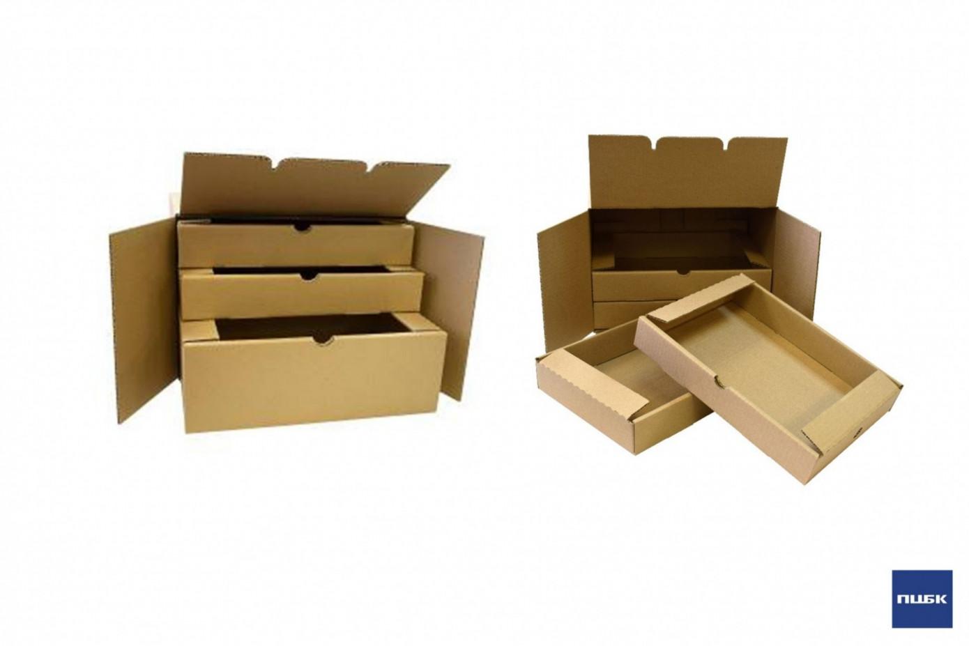 Группа «ПЦБК» разработала модульную гофроупаковку для доставки еды