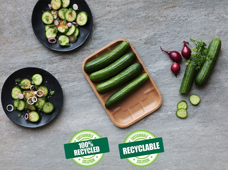 Cascades Inc. начала производство инновационных лотков для упаковки продуктов