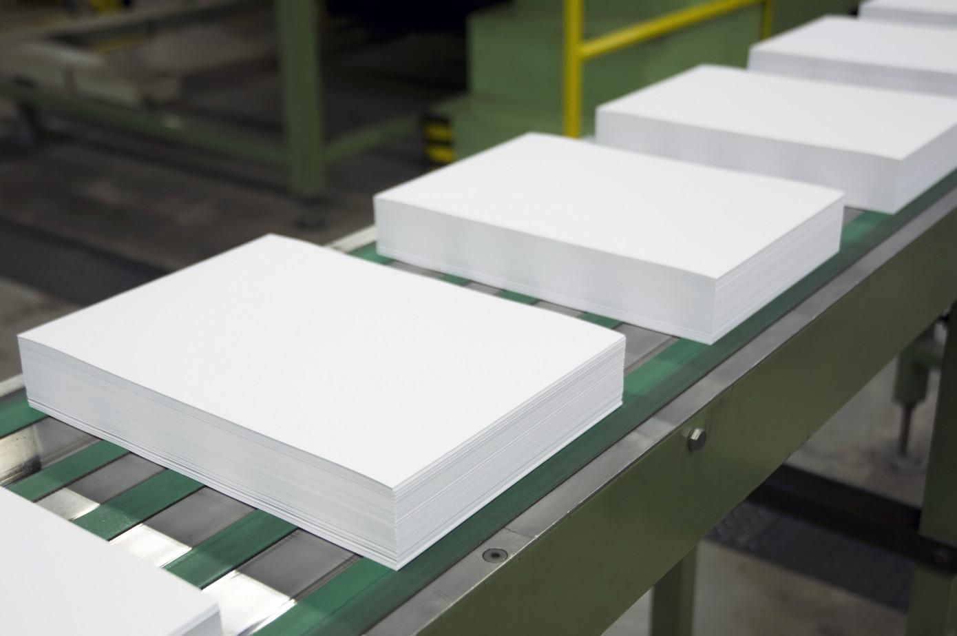 В июне 2020 г. поставки бумаги для печати и письма в США снизились на 25%