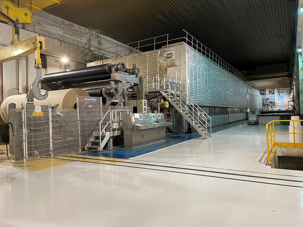 """Voith rebuilds Papresa""""s PM 5 at Rentería mill in Spain"""