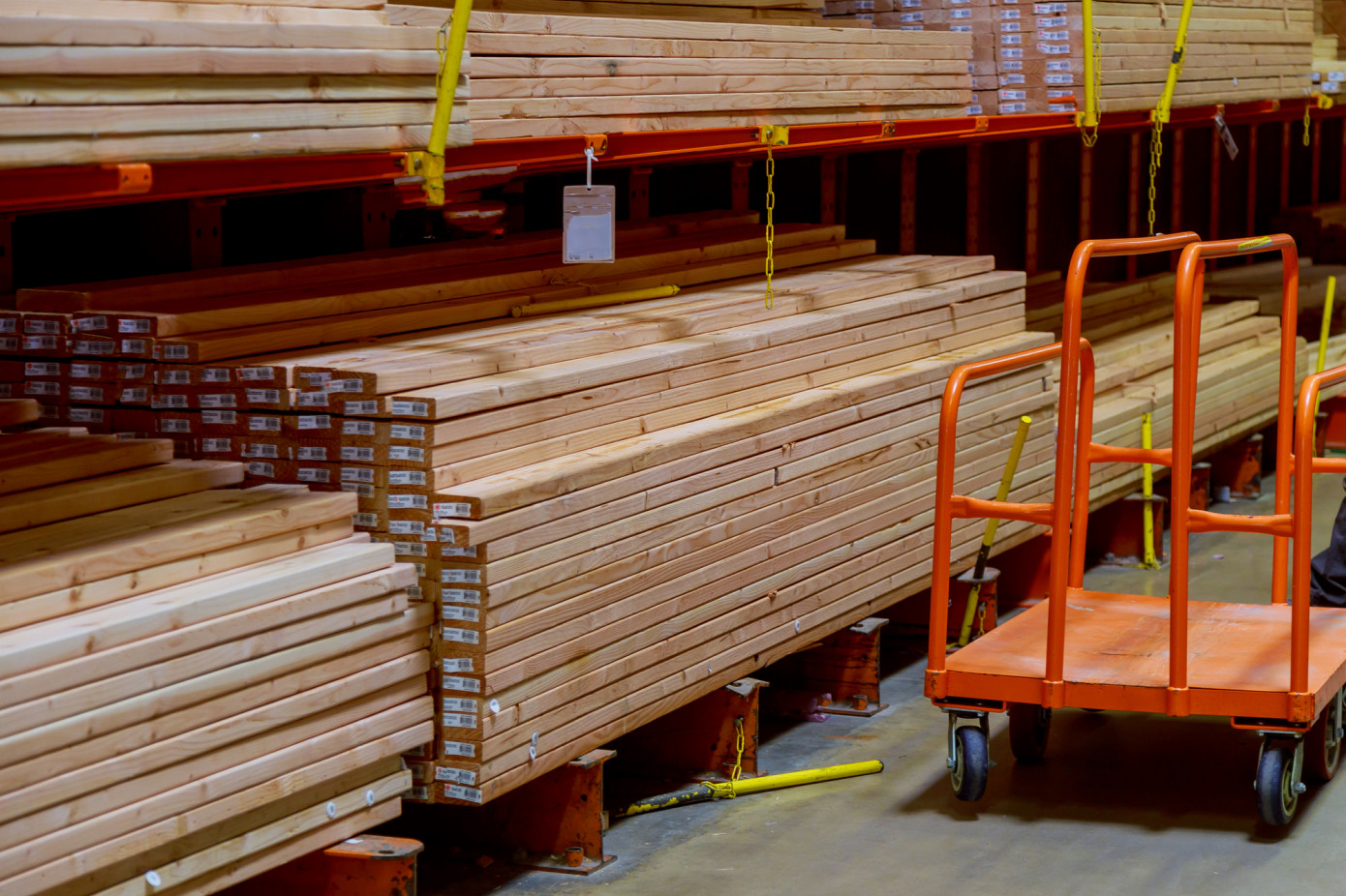 There is never shortage of lumber, there is just shortage of lumber at cheap prices