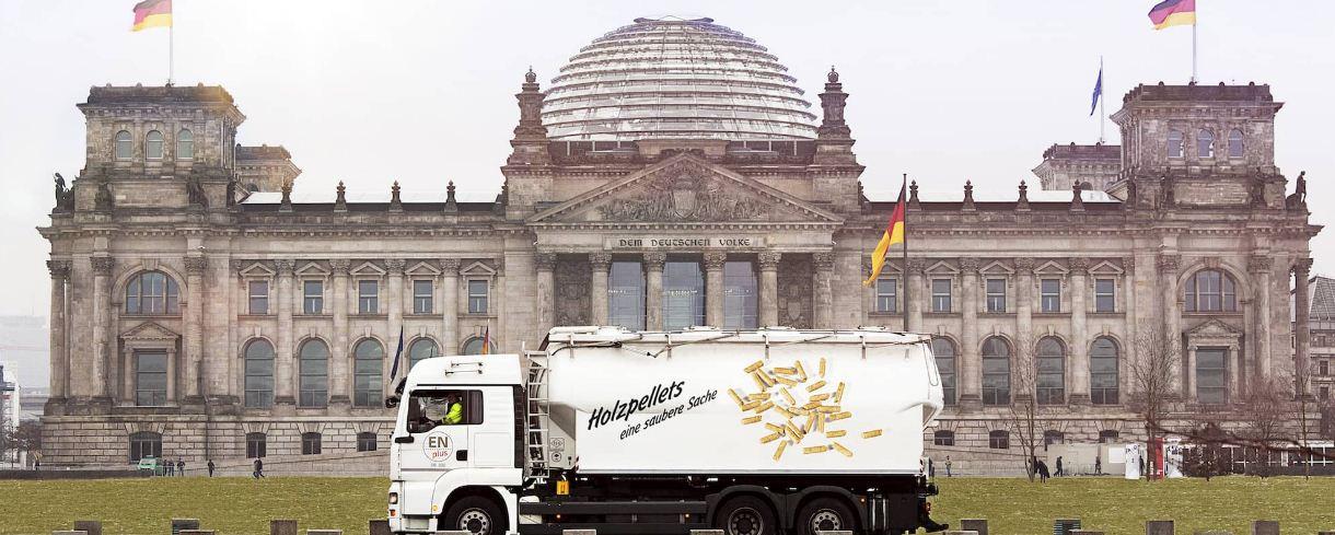 Во 2 кв. 2021 г. производство топливных пеллет в Германии выросло на 11,8%