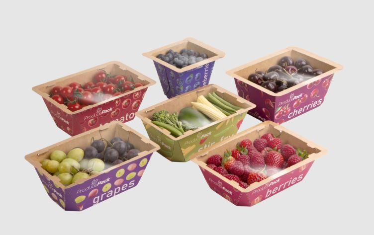 Graphic Packaging разработала инновационную картонную упаковку для овощей и фруктов