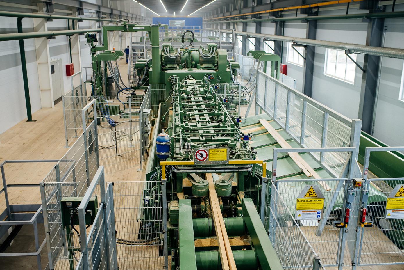 В 2020 г. «Лесозавод-25» увеличил производство экспортных пиломатериалов на 6%